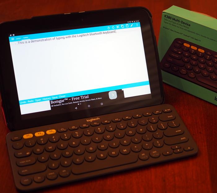 Review: Logitech K380 Bluetooth Keyboard | tarus io