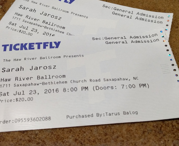 Sarah Jarosz Tickets