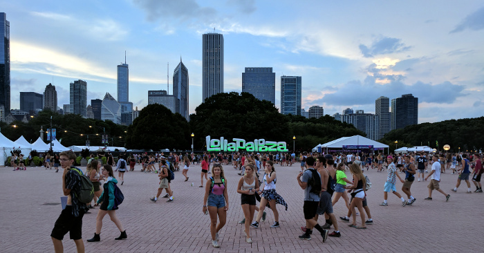 Lollapalooza - Buckingham Fountain