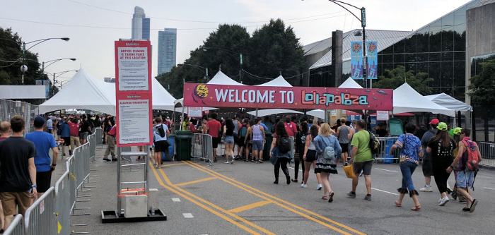 Lollapalooza - northern entrance