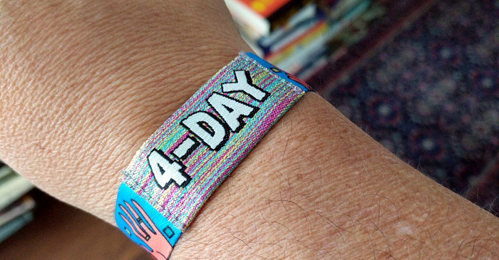 Lollapalooza 4-Day Wristband