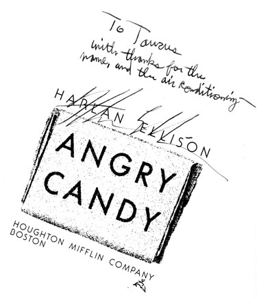 Harlan Ellison note